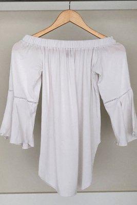 Talla: S   Marca: Zara   Color: Blanca   No se acepta devolución