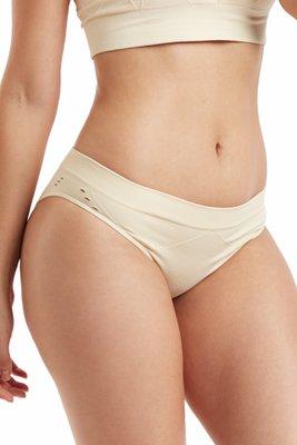 Estilo Bikini, Textura lisa, pretina suave superior, gusset tejido en algodón
