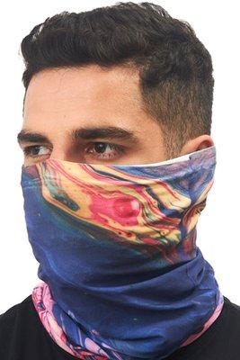 Superfit seamless bandana light microfibra multifuncional sublimado colorfull