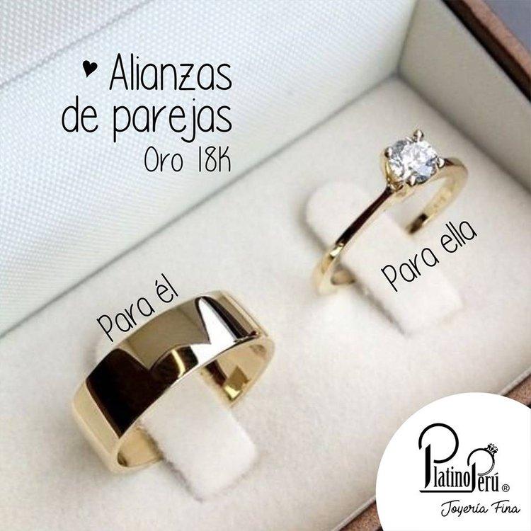 zapatos deportivos cc6f7 33595 Alianzas de novios | Platino Perú