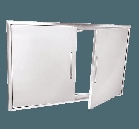 -Acero inoxidable 304  -Espacio útil para almacenamiento  -Espacio para papel toalla en el interior.