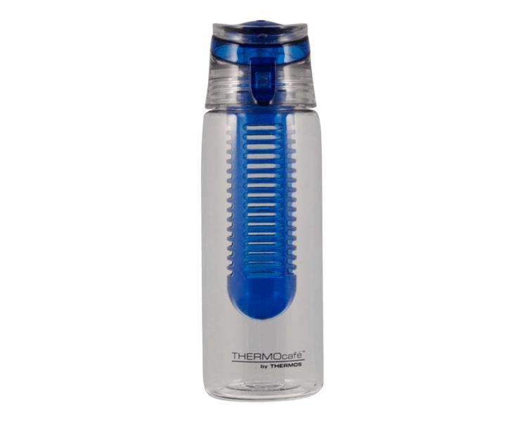 Características:   Capacidad: 650ML.   Material: Tritan. Con asa para llevar   Libre de BPA   Con filtro para frutas   Ideal para, durante y después, de hacer ejercicio.  No retiene olores
