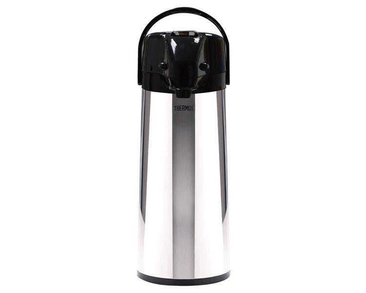 "• Sistema ""De palanca - Lever Action""    • Ampolla de vidrio    • Asa movible para fácil transporte    • Parte superior removible para fácil lavado    • Base giratoria de 360 grados para servir fácilmente    • Líquidos fríos y calientes"