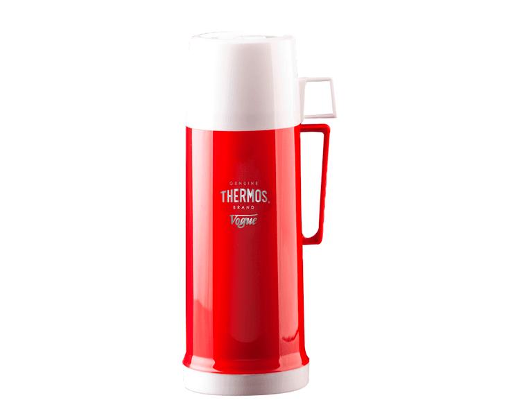 CARACTERÍSTICAS:   Envase isotérmico con ampolla de vidrio interna   Exterior de plásticolibre de BPA   Aislamiento al vacío   Líquidos fríos y calientes   Mantiene bebidas calientes por 12 horas y frías por 24 horas   No retiene olores