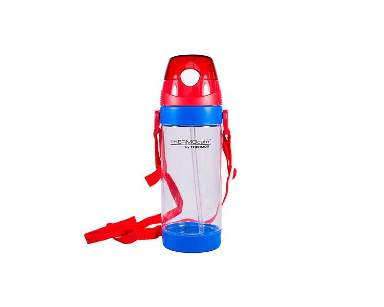 Características:   Capacidad: 580ML.   Material: Interior y exterior de tritán.   No tóxico.   Libre de BPA.   Ideal para la lonchera.   No utilizar con bebidas calientes.