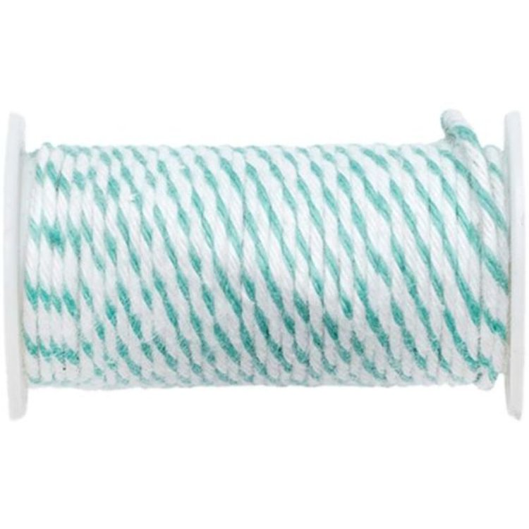 Longitud: 2,75 m.Alambre maleable y flexible recubierto de cuerda twine.