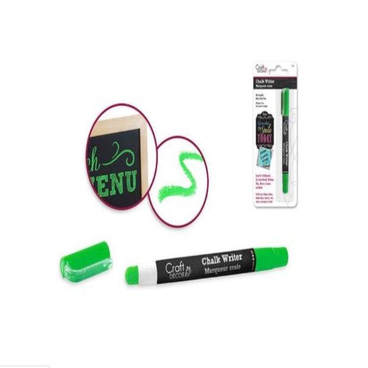 Chalk Marker Neon Green  Marcador tipo tiza, se usaen diferentes tipos de decoración como globos , cajas de acetato, vidrio etc  Equipo Scrapyart