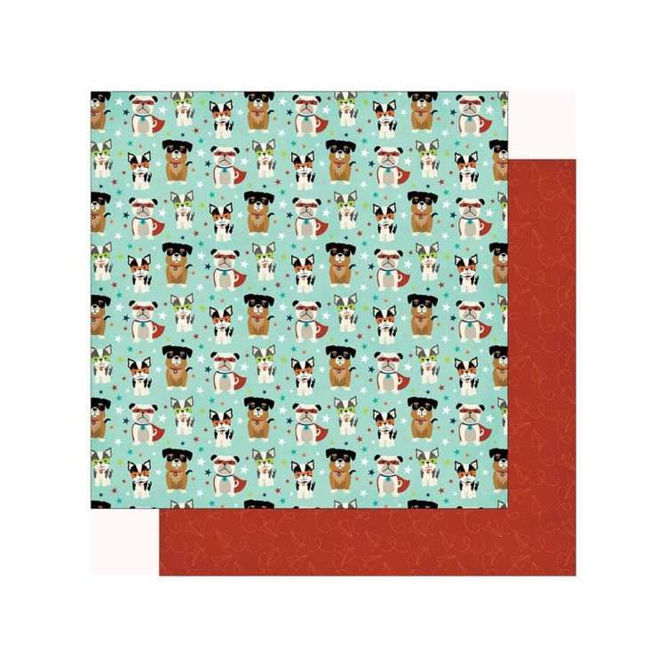 El comienzo perfecto para tus álbumes de recortes, tarjetas y mucho más,doble cara de 30,5 x 30,5 cm.