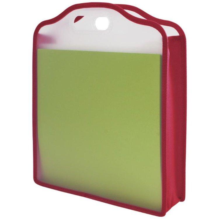 Storage Studios Paper Folio: rosa. Un tamaño perfecto para guardar y transportar sus cartulinas y papeleria. Este paquete contiene un folio de papel de 15-3 / 4x13x3 pulgadas.  Grupo Scrapyart.