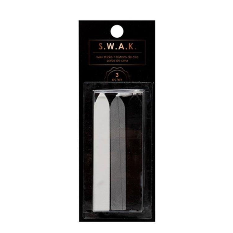     Incluye: tres varillas de cera para ser utilizadas con los kits de sellado de cera S. W. A. K de American Crafts. Personalizable: personaliza cartas y tarjetas con bonitos y elegantes sellos de cera. Par de sellos y varillas de cera para adornos únicos.