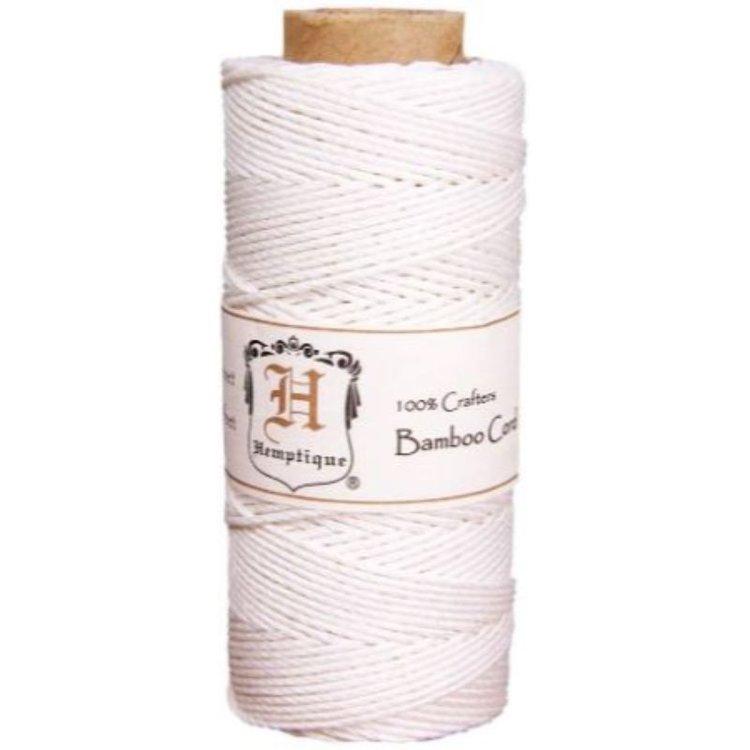 Hilo de fibra natural de cañamo utilizado en scrabooking, tarjetería, encuadernación y decoración en todo tipo de manualidades, es biodegradable de 1 mm. de espesor, 62.5mt.  Equipo Scrapyart