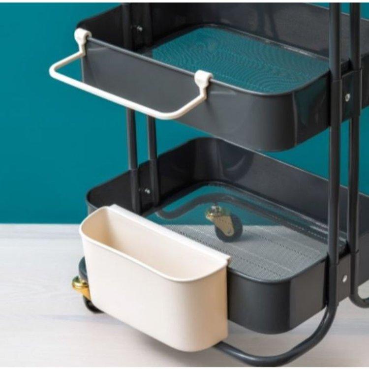 Cart Gift -Wrap Holder de We r Memory Keepers.  Accesorio para carrito, especial para alojar rollos u otro tipo de materiales.  Equipo Scrapyart