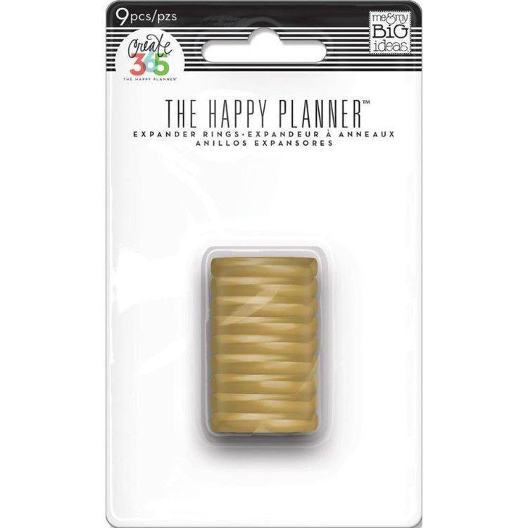 """Discos Expansores Dorados de 3/4""""  ¡El complemento perfecto para tu planificador! Este paquete de contiene 9 discos expansores dorados . Embellece y dale otro toque a tu Planner.  Equipo Scrapyart"""
