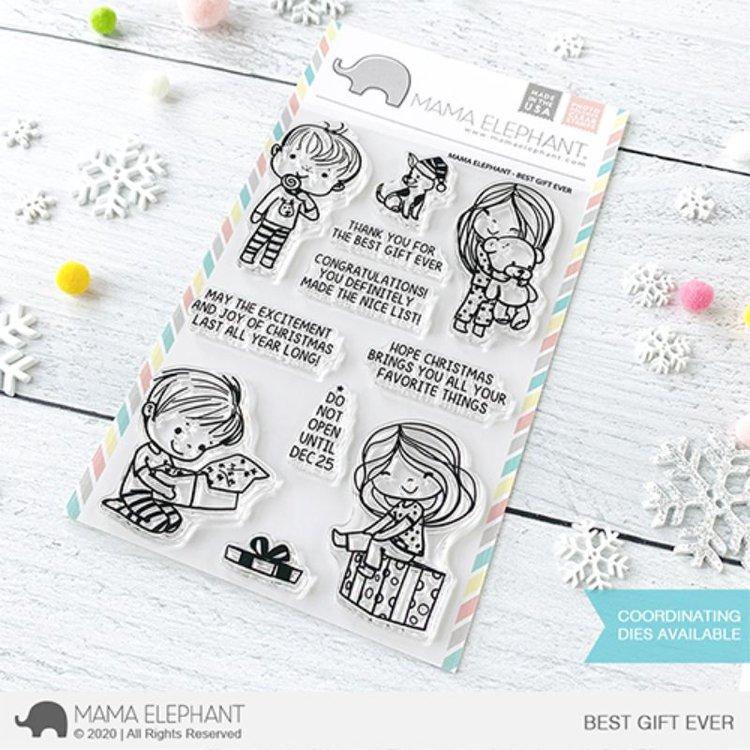 """Sellos """"Santa Baby""""de Mama Elephant  Coleccion de sellos de silicona de excelente calidad, ideales para colorear y realzartus proyectos de tarjetería , scrapbooking y otras manualidades.  Garantizan durabilidad y excelente estampado.  Equipo Scrapyart"""