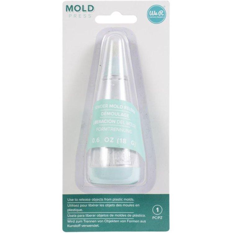 Mold Press Powder Tool  Polvo liberador de moldes de la Mold Press de We R Memory Keepers.  Contenido: 4 oz.  Equipo Scrapyart