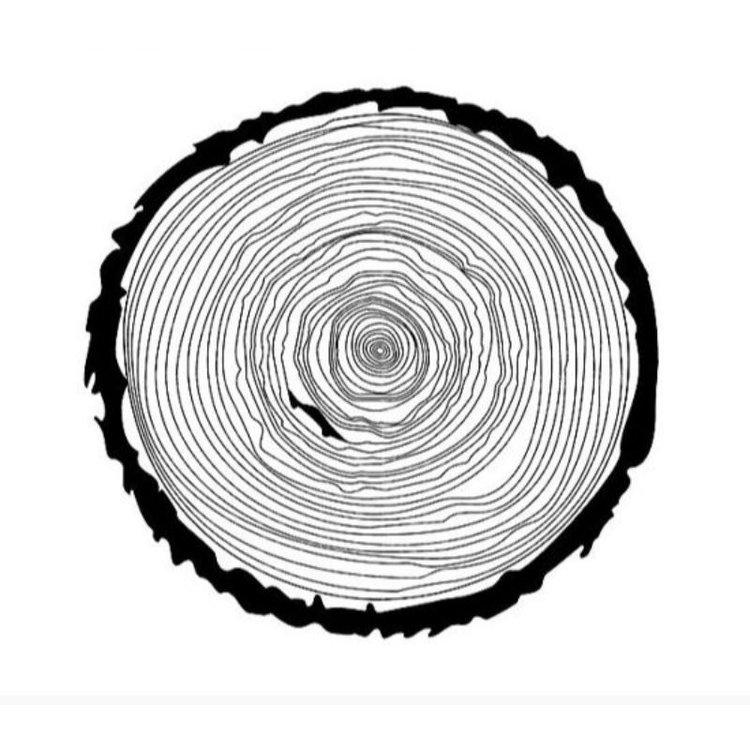 """Sello """"Slice Of Wood""""  Sello especial de silicona de excelente calidad, ideal para colorear y darle un toque más a tus proyectos de scrapbooking y otras manualidades.  Equipo Scrapyart"""