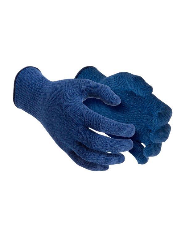 Guante Térmico de protección en bajas temperaturas hasta -10°C.  Recomendado para labores en zonas frías que requieran de maniobrabilidad y flexibilidad.  Fabricados con polivinil térmico (no es lana!), un material que permite la liberación del sudor y retiene el calor para así mantener al usuario protegido, caliente y cómodo.  Guante de tamaño estándar que se ajusta sin problemas al tamaño y forma de la mayoría de las manos.  Colores Azul y Blanco. Talla Estándar.