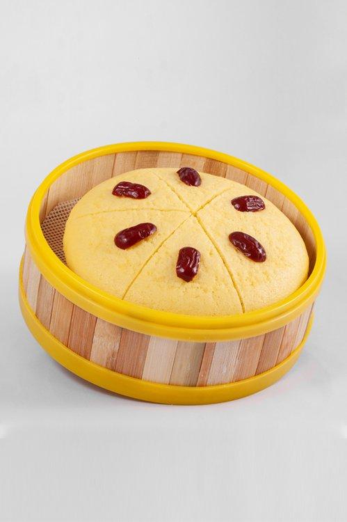 """El cake más reconocido de """"Chalou"""" la cadena de restaurantes más famosos de Dim Sum de Guangzhou, este keke es famoso por sus miles de pequeñas burbujas en el, su suave dulzura y delicadeza, una verdadera adicción!"""